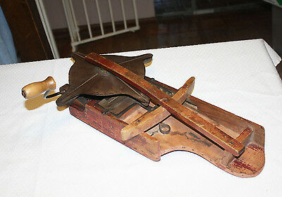 Rare Antique Cyclone Hand Seeder Urbana Indiana Farming