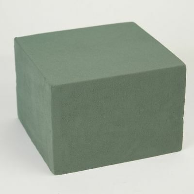 OASIS® Ideal Floral Wet Foam Large Cube Quad Brick - 22 x 23 x 16cm Fresh Flower