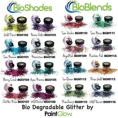 PaintGlow Bio Degradable Chunky Glitter - ideal for parties & festivals