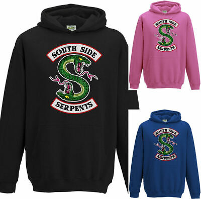 Southside Serpents Kids Riverdale Hoodie TV Show Hoodie Childrens Boys Girls Top