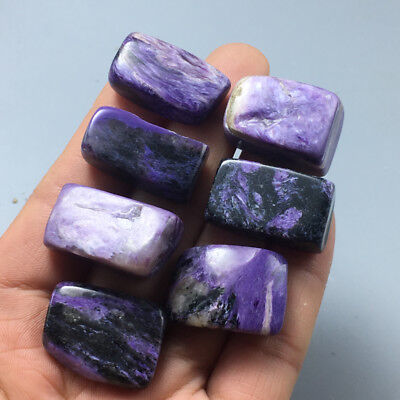 55g Natural beautiful free body Charoite mineral rock samples a57