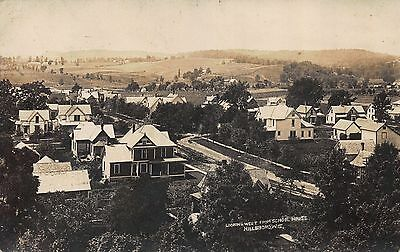 Real Photo Postcard Looking West from School House in Hillsboro Wisconsin~112449