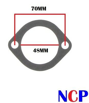 EXHAUST GASKET FLAT TYPE 62mm BOLT STUD HOLE CENTRES 40mm PORT SIZE