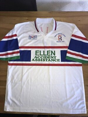 Great Britain Lions Rl V France 1999  Player Issue Shirt Xl Superb Condition