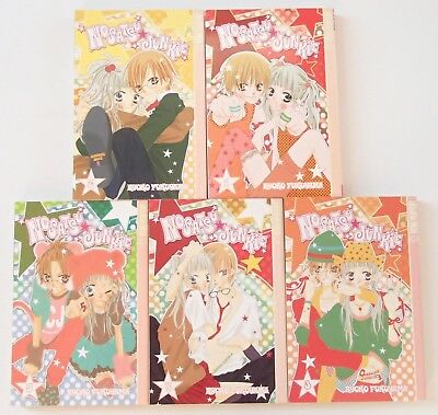 Nosatsu Junkie Volume 1-5 Manga English Book Novel Lot Comics Bundle