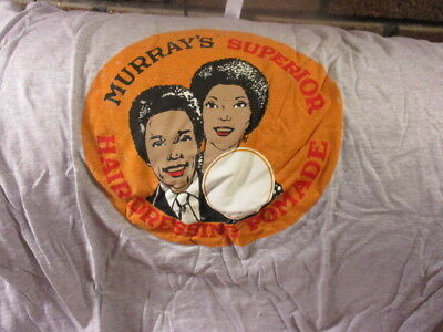 Soft Grey MURRAY'S Superior Hair Dressing Pomade Ad T Shirt Large 100% Cotton