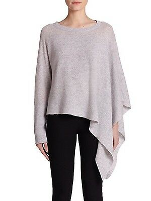 Helmut Lang Coeur Cachemire Alpaca Soncho Poncho Pull Gris TAILLE S e6e205faa109