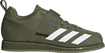 adidas Powerlift 4.0 Mens Weightlifting Shoes Green Gym Bodybuilding Boots Lift