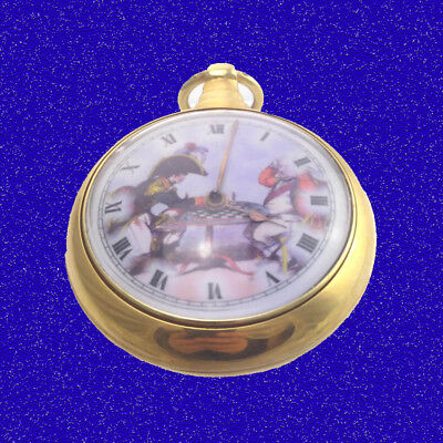 Napoleon and Cornwallis - Chess 18k Gold Fusee Verge Pair Case Pocket Watch 1802