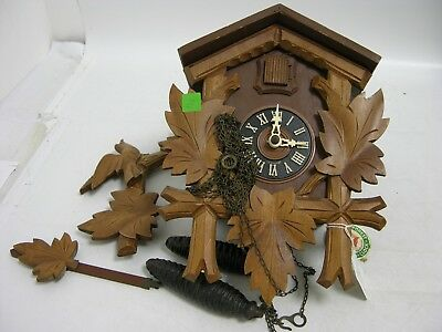 Hubert Herr Original Black Forest Solid Wood Handcarved Cuckoo Clock (FEB138)