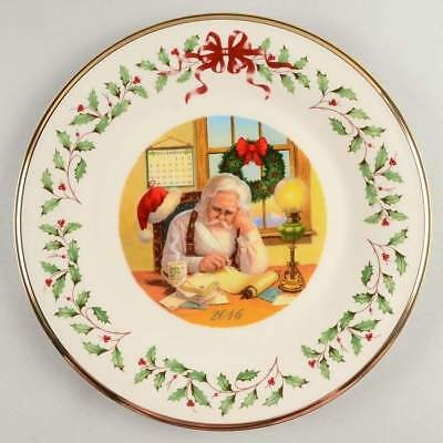 Lenox HOLIDAY ANNUAL CHRISTMAS PLATE 2016 Holiday Plate