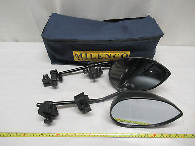 Set of 2 Milenco III Towing Mirrors with Storage Bag