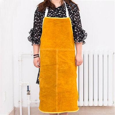 1x Leather Welders / Blacksmiths Apron Protective Safety Welding Apron Clothing