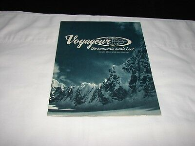 Red Wing shoe company catalog 1971 (Voyageur division) hiking-climbing boots