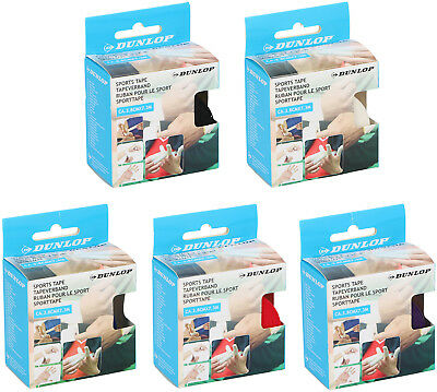 DUNLOP 7.3M Kinesiology Sports Tape Physio Knee Shoulder Body Muscle Support Gym