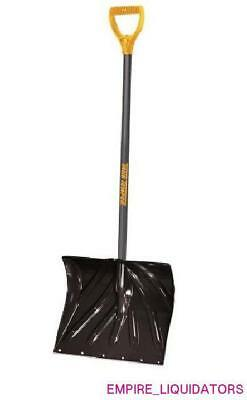 "8 True Temper 18"" Poly Lightweight Snow Shovels with 36"" Steel Handles 1627200"