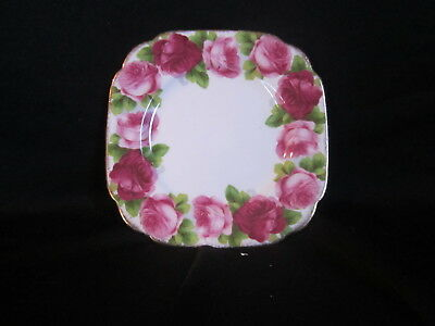 Royal Albert - OLD ENGLISH ROSE - Square Bread and Butter Plate