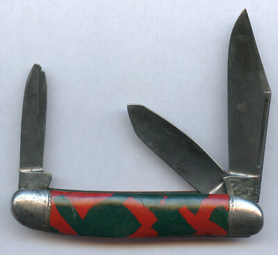 Hammer Brand Made In Usa. Vintage Pocket Knife Scarce Os.