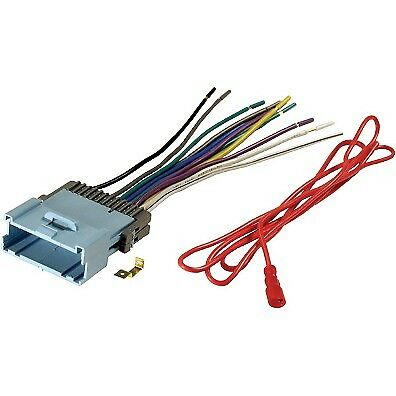 Aftermarket Radio Stereo Install Dash Wire Wiring Harness Cable OEM Plug Adapter