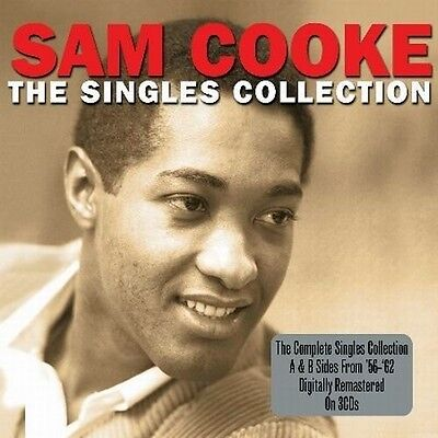 Sam Cooke - The Singles Collection - A & B Sides From 1955-62 (New Sealed 3Cd)