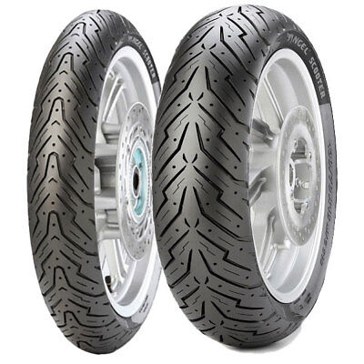 Tyre Set Pirelli 120/70-12 51S + 100/90-14 57P Angel Scooter