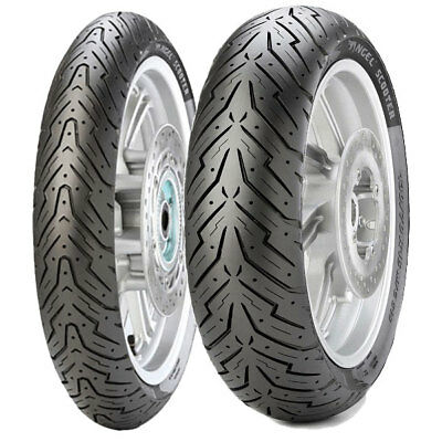 Tyre Set Pirelli 100/90-10 56J + 100/90-14 57P Angel Scooter
