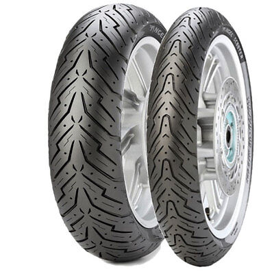 Tyre Set Pirelli 100/90-14 57P + 90/90-10 50J Angel Scooter