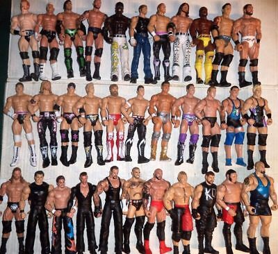 Wwe Wrestling Figures Mattel Wwf Choose A Wrestler