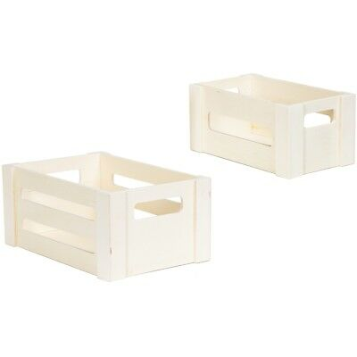 Wood Crates Nested 2/pkg-