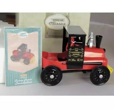 HALLMARK KIDDIE CAR CLASSIC 1961 Garton Casey Jones LocCannonball Express In box