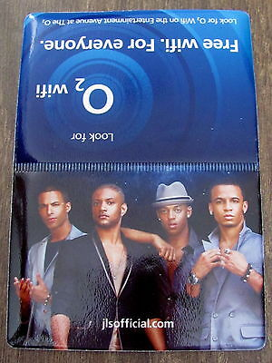 Jls Outta This World Uk Arena Tour 2010 Plastic Oyster/credit Card Holder