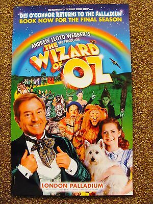 The Wizard Of Oz London Musical Theatre Poster Des Oconnor