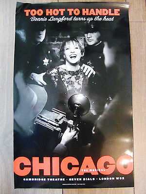 Chicago London Musical Theatre Poster Bonnie Langford