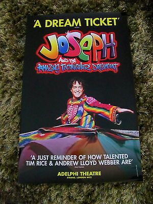 Joseph Amazing Technicolor Dreamcoat London Musical Theatre Poster Lee Mead