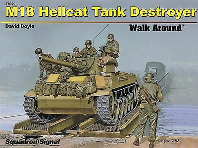 2ss27029a/ Squadron Signal - Walk Around 29 - M18 Hellcat Tank Destroyer