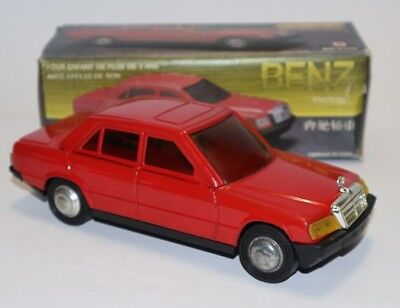 Blechauto Mercedes ? Benz 190, Friction Tin Car NOS