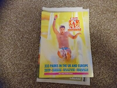 The SUN £9.50 Holiday Offer