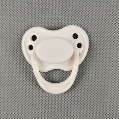White Dummy Magnetic Pacifier For Reborn Dolls Internal Magnet Accessories