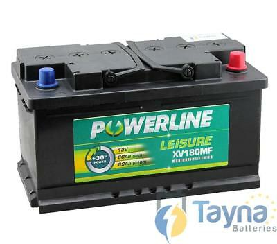 XV180MF Powerline Batterie Camping Bateau 12V
