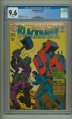 Blackhawk 239 (CGC 9.6) White pgs; DC Comics; 1968; None graded higher! (c#22094