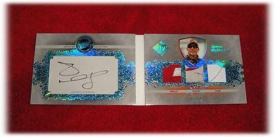 2012 Total Memorabilia Signature Collection Jamie Mcmurray Autograph Booklet /10