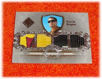 2012 Press Pass Total Memorabilia David Ragan Quad Tm-Dr2 Race Used Nascar 16/50