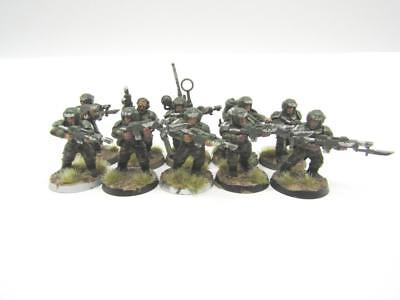 Warhammer 40k Astra Militarum Imperial Guard Cadian Infantry Squad (w3007)