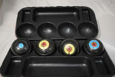 Set Of Thomas Taylor Lignoid Size 3 Bowls With Case