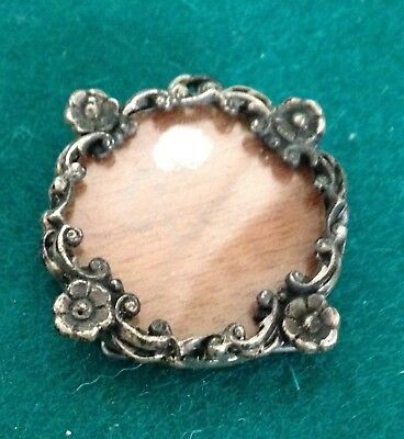 Antique Hallmarked Silver Miniature Photograph Frame Pendant or Easel Valentines