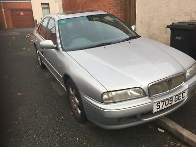 ROVER 618i S 113 BHP 1998 SILVER 4 DOOR CHEAP CAR NO RESERVE 3 DAY LISTING