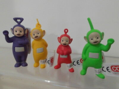 Teletubbies Comansi 4 x Figur Set komplett TV Kult Cake Topper