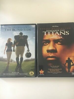 The Blind Side Remember The Titans DVD Lot