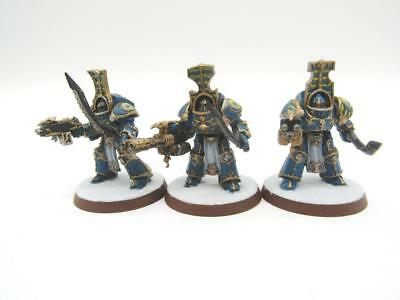 Warhammer 40k Chaos Thousand Sons Scarab Occult Terminators Squad (w3373)
