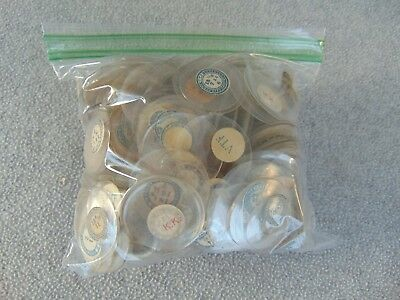 1 1/2 Lbs / 100S Of Old Vintage Pocket Watch Crystals Watch Parts